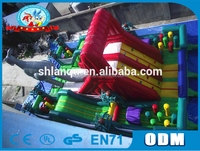 Mega inflatable obstacle course/giant inflatable obstacle