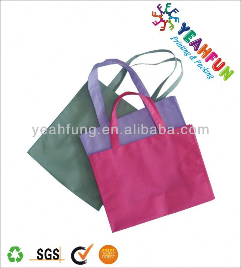 Custom printing folden shopping bag