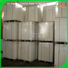 high quality 48gsm - 80gsm lwc paper / light weight coated paper price in roll and sheet