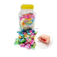HALAL Assorted Fruit Flavors Center Filled Bubble Gum