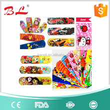 Cartoon adhesive bandage/ custom printed band aid/wound plaster