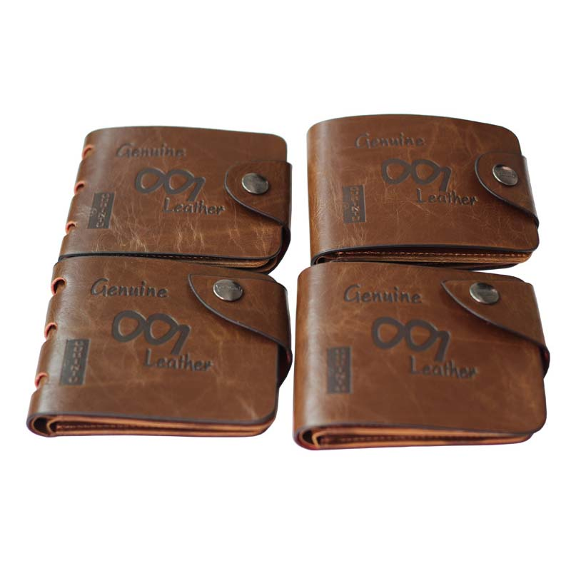 BAILINI GUBINTU <strong>101</strong> Man's PU Leather Clutch Business Credit Card Holder Pocket Letter Bag Wallet Purse