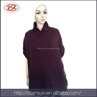 Women ladies winter dressing funny pashmina ponchos and shawls