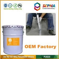 Top quality Grey color Single Component Waterproof Self-Leveling concrete road crack pu Sealant