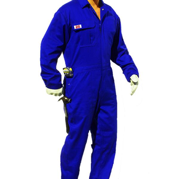 Coverall Deluxe Royal Blue XXXL
