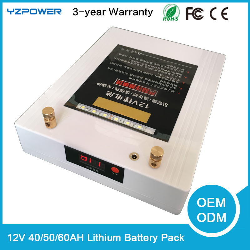 12v 40ah li on polymer lithium battery pack for electric bike mobile phone