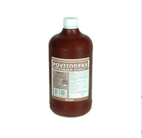 Best price iodinated povidone solution 7.5%