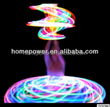 Professional factory colorful Sports led glow hula hoop with low price
