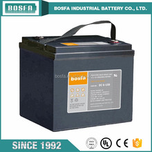 first solar battery in china 6v150ah battery powered led open signs