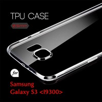 0.5mm Ultra Thin TPU Transparent Clear Protective Case for Samsung Galaxy S3 I9300