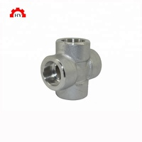 High quality forged carbon steel galvanized pipe fitting