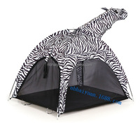 Animal Zebra Tent , Animal Kids Playing Tent, Animal Printing Zebra Design Playing Tent
