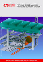 FRP / GRP Cable Ladders, Trays and Support System