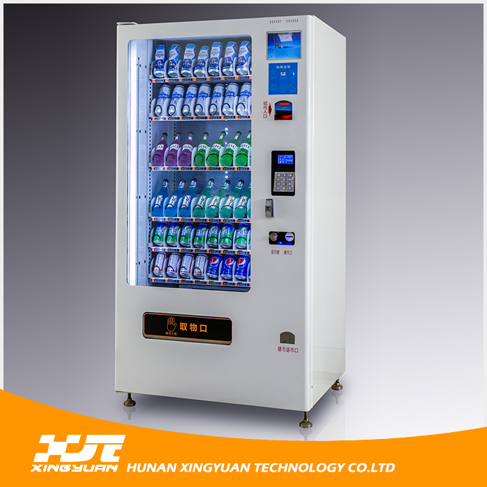 Glass Bottle Dark Beer Vending Machine with CE and ISO9001 Certificates