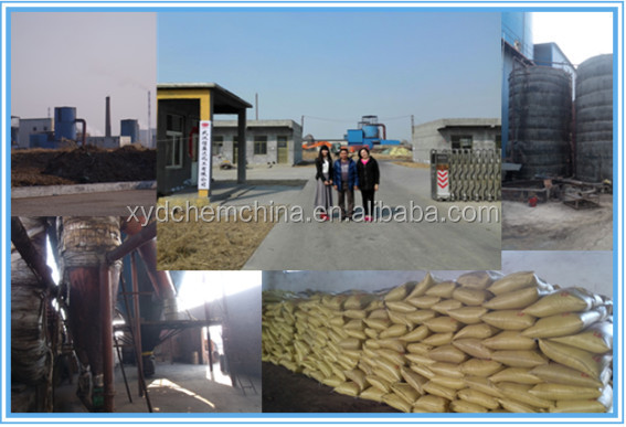 Better Price light yellow(brown) free flowing powder sodium lignosulfonate/SLS COA/MSDS Construction Use