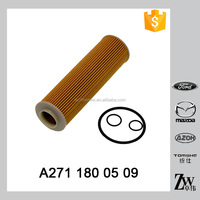 High quality car lubrication system auto parts return hydraulic oil filter A271 180 05 09 for Germany car models