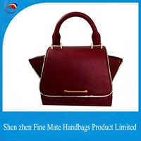 New arrival fashion design famous brand women bags leather susen lady handbag