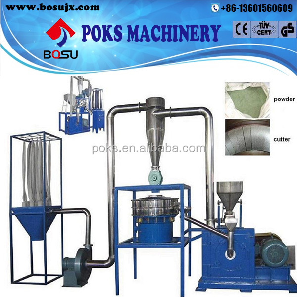 grinder plastic recycling machine
