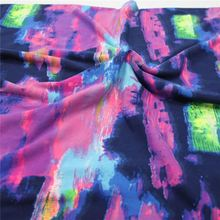 Hot Sale Soft Milk Silk Single Jersey With Brushed Print Knit Fabric