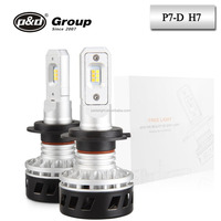 p&d manufacturer auto led light P7-D 36w dual color led headlight h7 led car headlights conversion kit