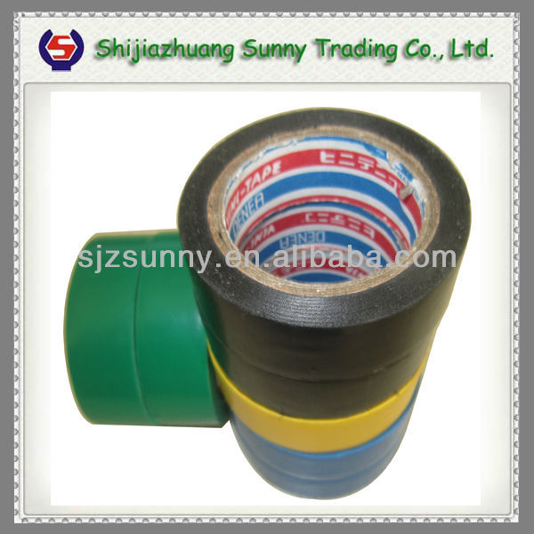 pvc insulating tape for wrapping cables and automobile harness