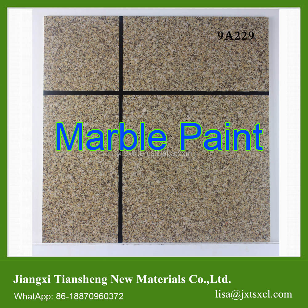 Acrylic Flakes Component Natural Stone Paint Granite Marble Coating