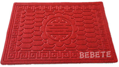 high quality rubber edge unique doormats for entrance use