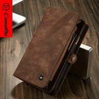 "High Quality Luxury Custom 5"" Inch Leather Case For Iphone 6 Protective Case"