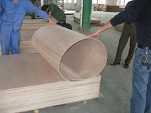 "3/4"" African Mahogany plywood is Good 2 Sides (G2S), grade A-1, is plain sliced, and has a 7-ply veneer core."