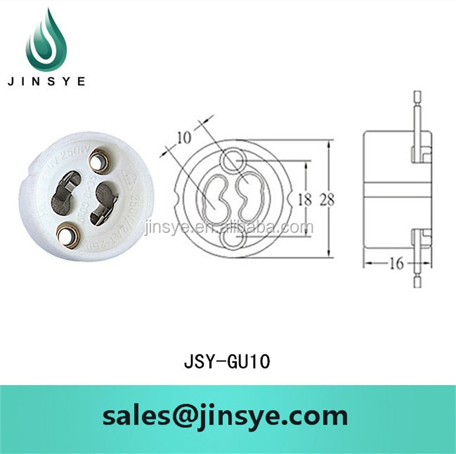 GZ10/gu10 socket bulb <strong>base</strong> holder types