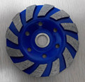 diamond turbo cup wheel for marble and granite grinding