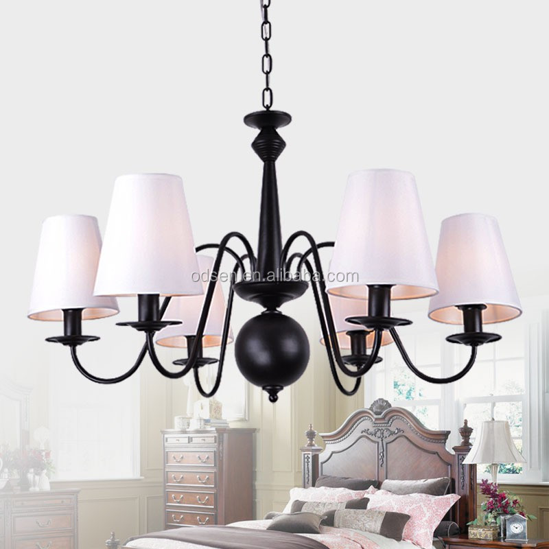 home design fabric pendant light modern chandeliers lamp