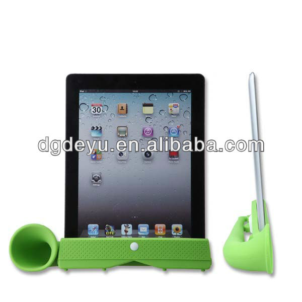 for ipad 2 3 loudspeaker/amplifier/horn stand