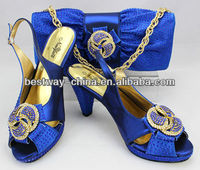 hot design Italian shoes with matching bags MG0057