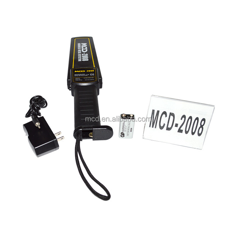 Rechargeable Metal Detector/portable body scanner/MCD-2008