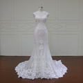 guangzhou a-line bridal dresses beaded lace