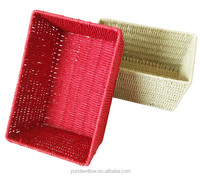 Eco-Friendly Feature Waste Paper Basket Decorative Gift Baskets
