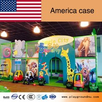 American high quality kids indoor naughty castle Newest design playground games