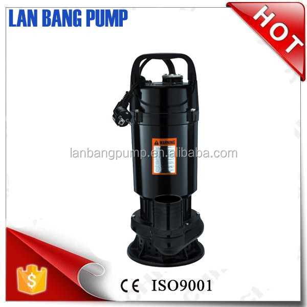High Flow Submersible Pump Aluminum Housing Stable Quality Home Depot Small Water Pump 1HP QDX Clean Pump