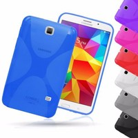 X-Line Clear Silicone Back Cover For Samsung Galaxy Tab 4 7.0 T230 T231