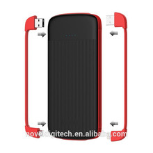 Product Supply Stylish Design Moveable Built-in Cable Mini Power Bank for iPhone and Micro