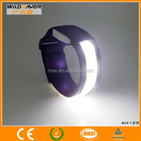 nylon led armband optical led armband flashing armlet