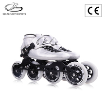 Carbon fiber Racing roller shoes 4 wheels in-line speed skate