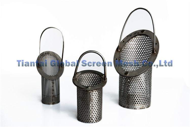 Alibaba China Wire Mesh Square Opening Stainless Steel Filter Cartridge