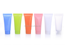 2017 Empty Cosmetic Pink Clear Blue Green 5ml 10ml 30ml Lip Balm PE Soft Tube for hand cream packing