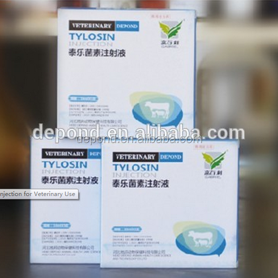 Animal tylosin tartrate injection