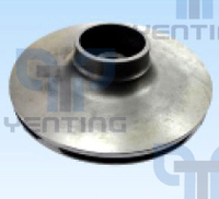 CIFA CONCRETE PUMP SPARE PARTS IMPELLER FOR WATER PUMP