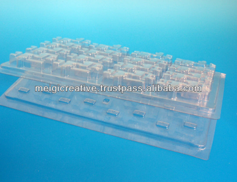 Clear PET Clamshell Packaging, Transparent Clamshell