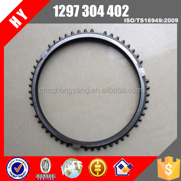 heavy duty truck bus spare parts gearbox synchronizer ring 1297304402