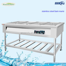 Decorative Fancy Chafing Dish Stainless Steel Restaurant Bain Marie Electric Food Warmers